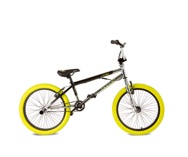 Bicicleta bmx chrome